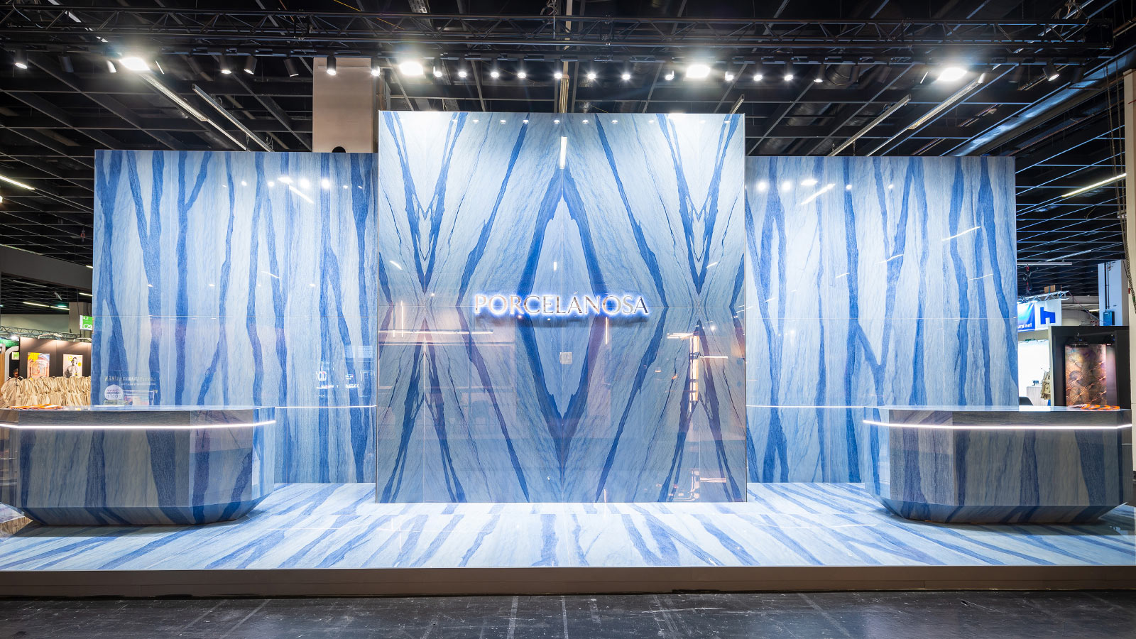 PORCELANOSA Group stands out at the IMM Cologne fair