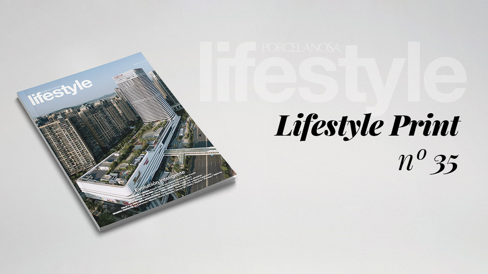 Lifestyle magazine devotes its pages to sustainable design and the architecture of the future