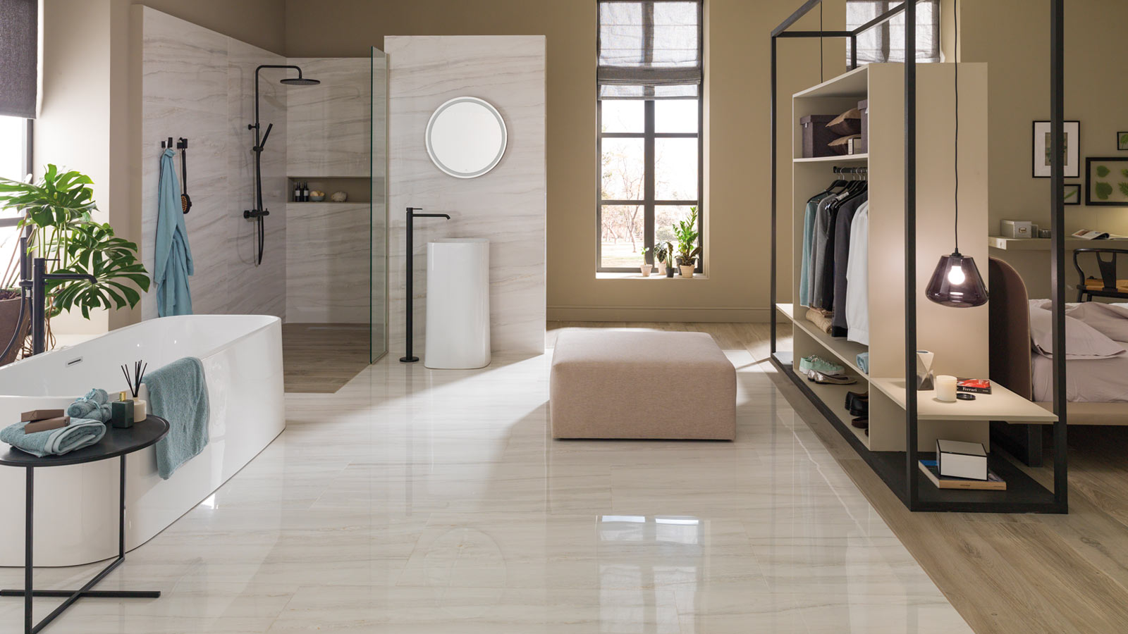Porcelanosa's ceramic collections reproduce nature in detail