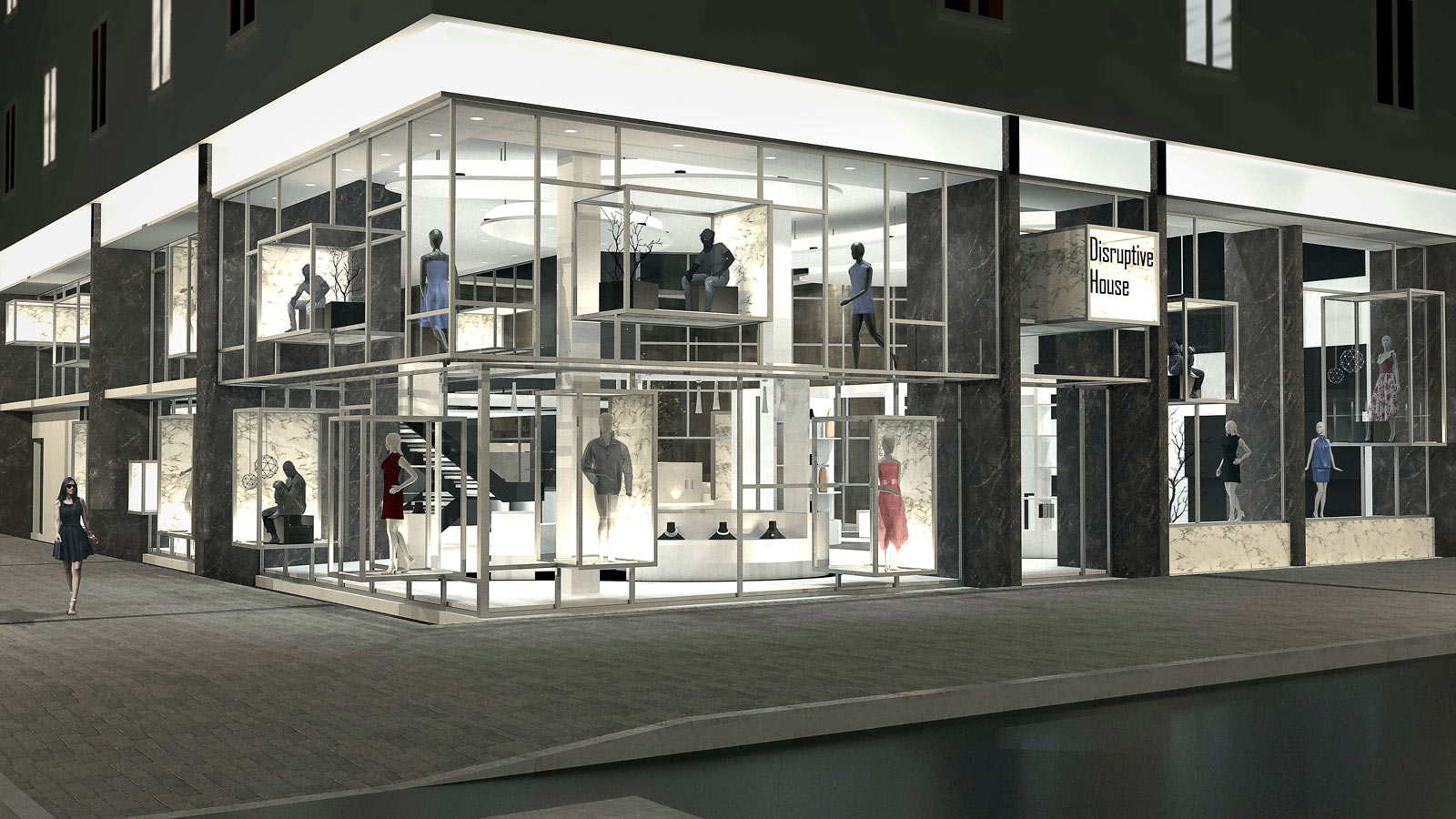 Twelfth Porcelanosa Awards Finalists: Disruptive House redefines the retail concept with experiential interior design
