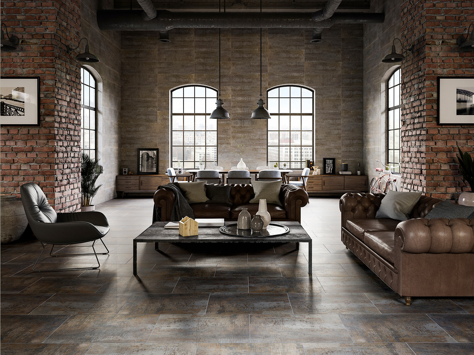 metallic-effect-floor-tiles