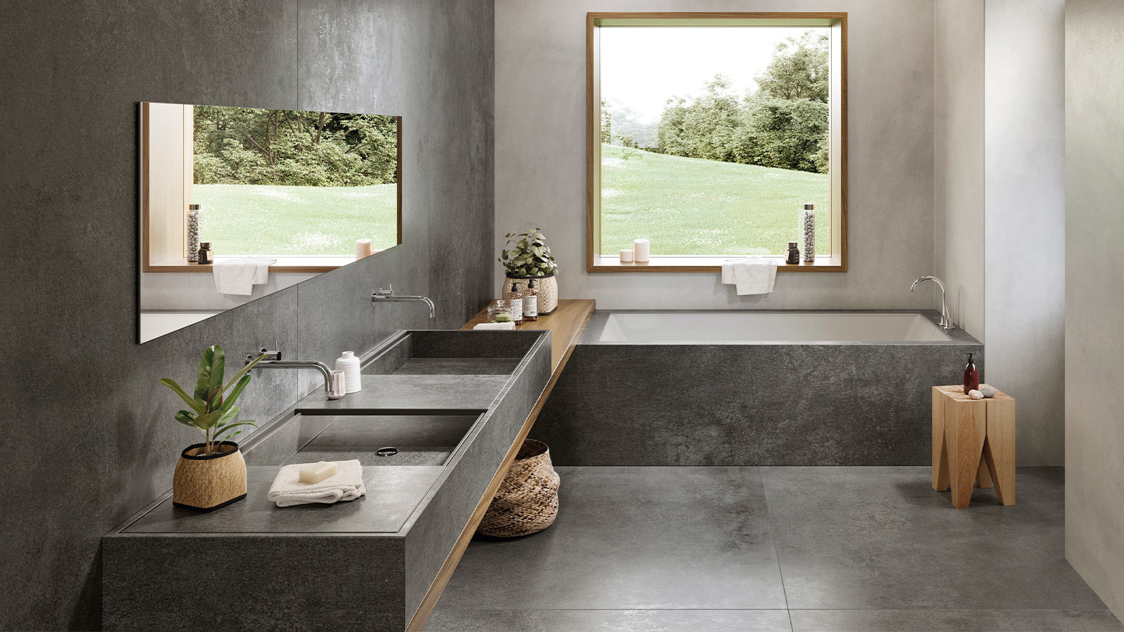 Here are the interior design trends Porcelanosa is proposing for interior design in 2020