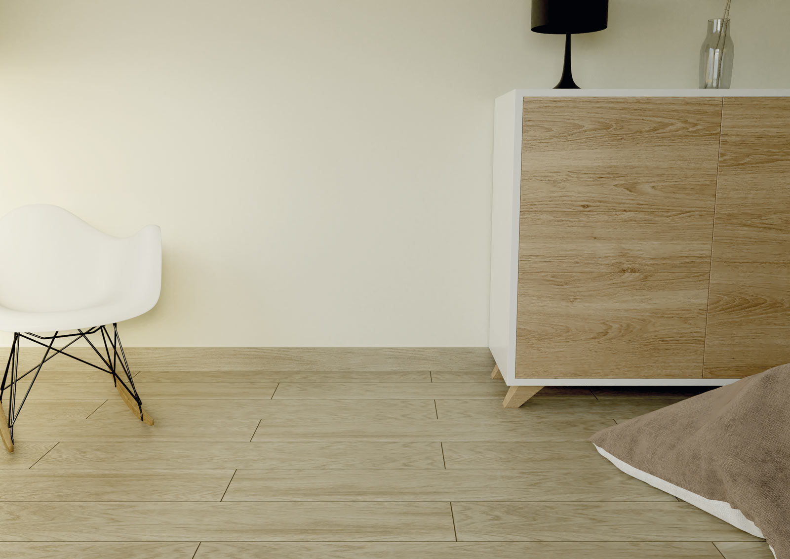 Skirting tiles, good looks and practicality for flooring