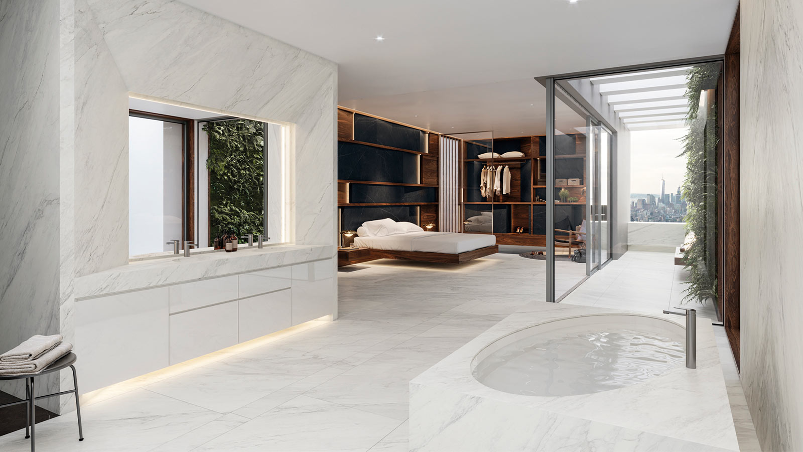 XTone Glem White Nature Tailored Design Urbatek Porcelanosa 2