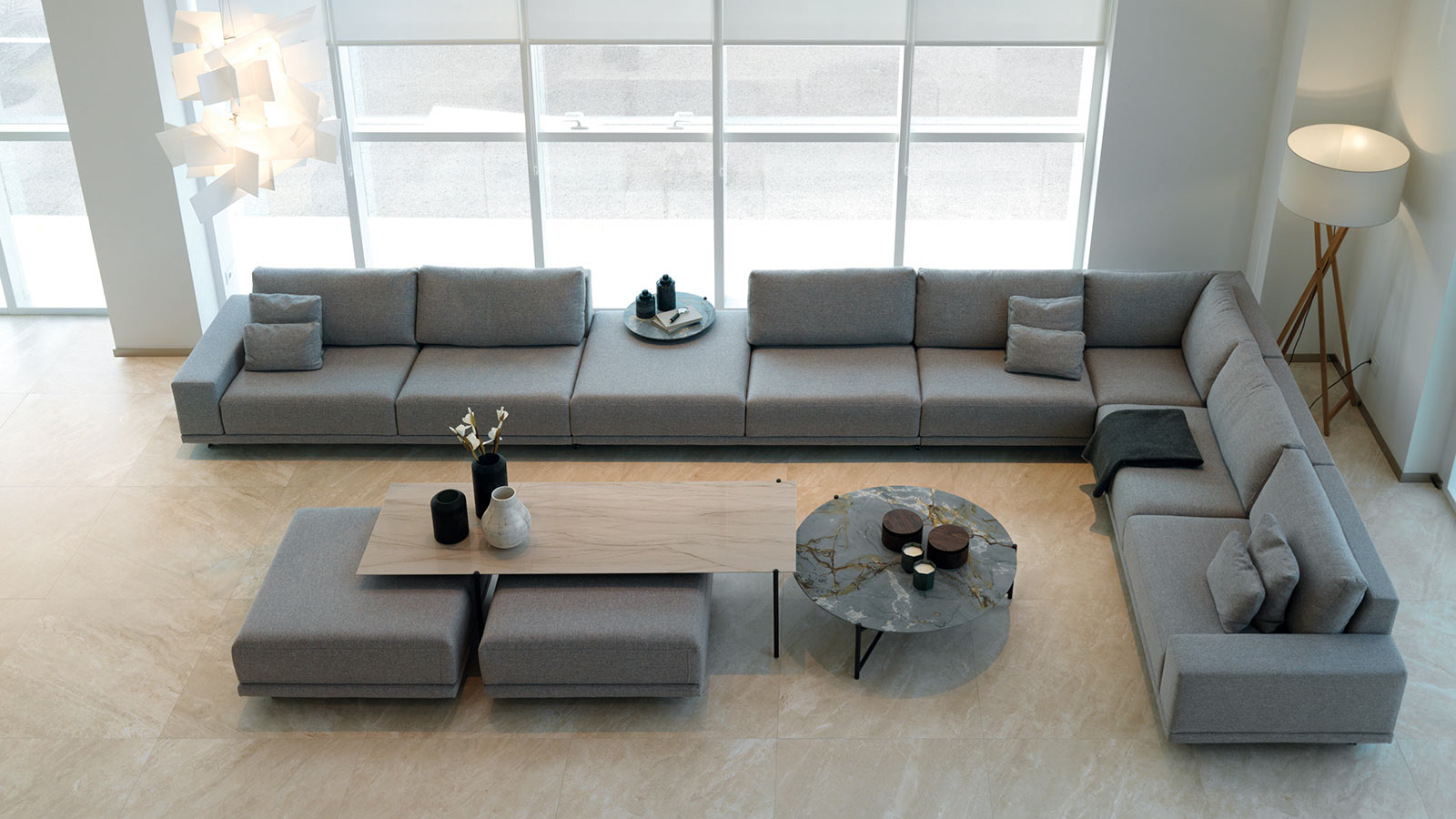 sofa gamadecor porcelanosa 3