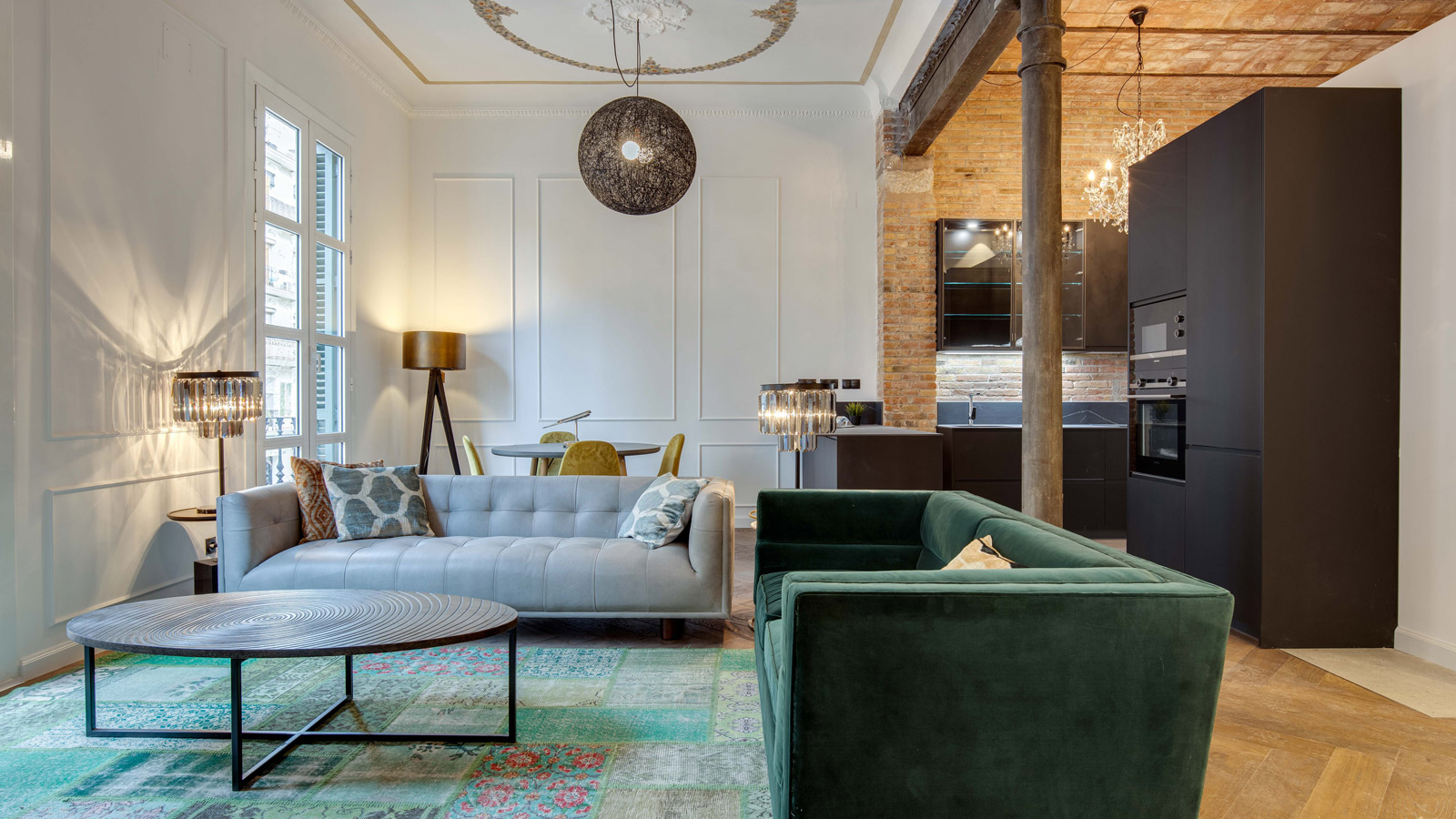 PORCELANOSA Grupo Projects : Un appartement moderniste à La Sagrada Familia