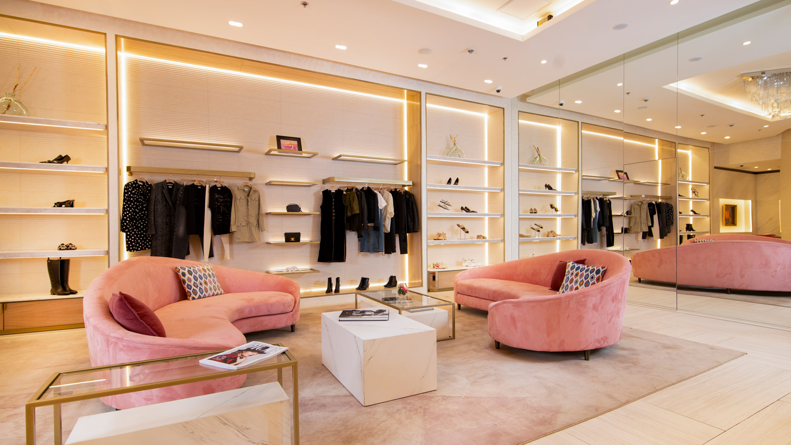 PORCELANOSA Group Projects: ÂME, a high-end shopping experience with Porcelanosa