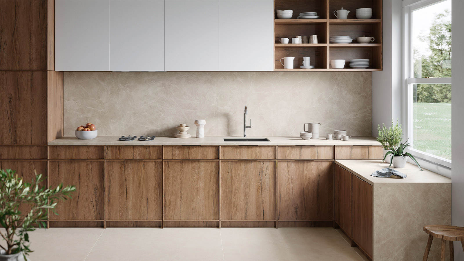 Kitchen wall tiles; 5 useful ideas for tiling your kitchen walls