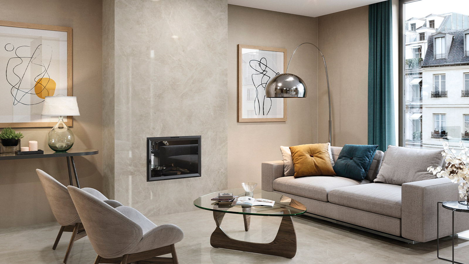 Returning home with the PORCELANOSA Group collections