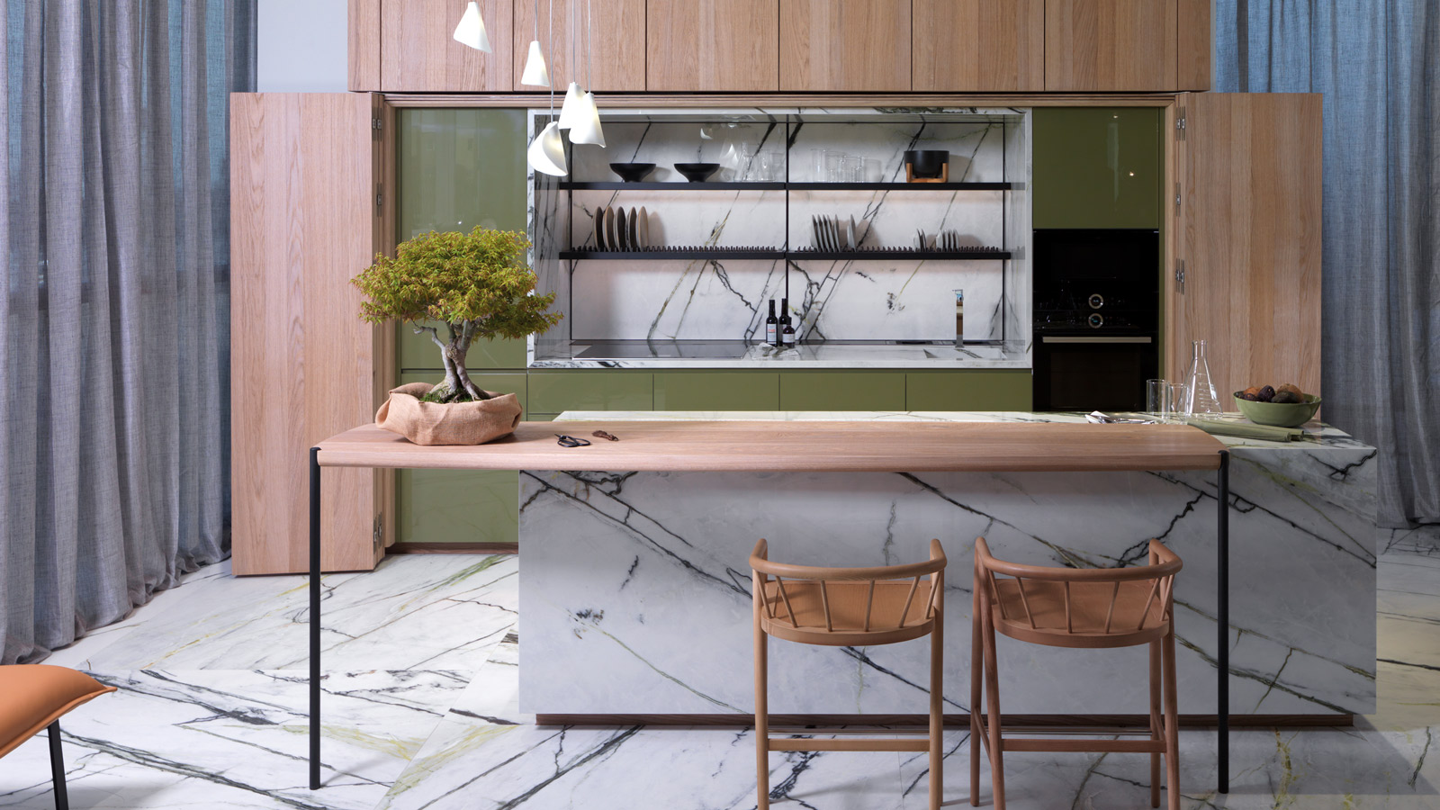 Keys to a functional and modern kitchen