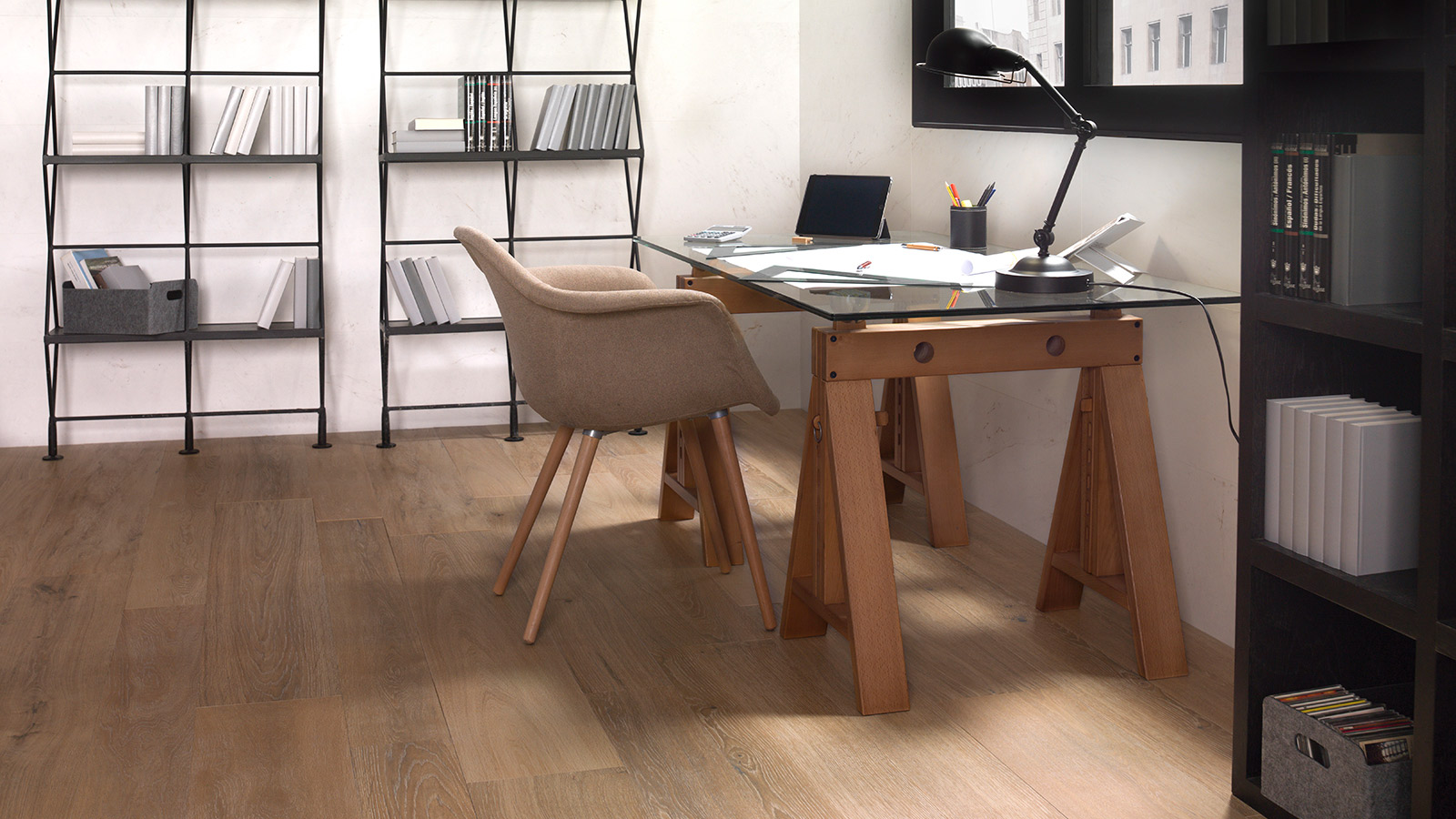Safe and sustainable offices with ECO Conscious by PORCELANOSA Group