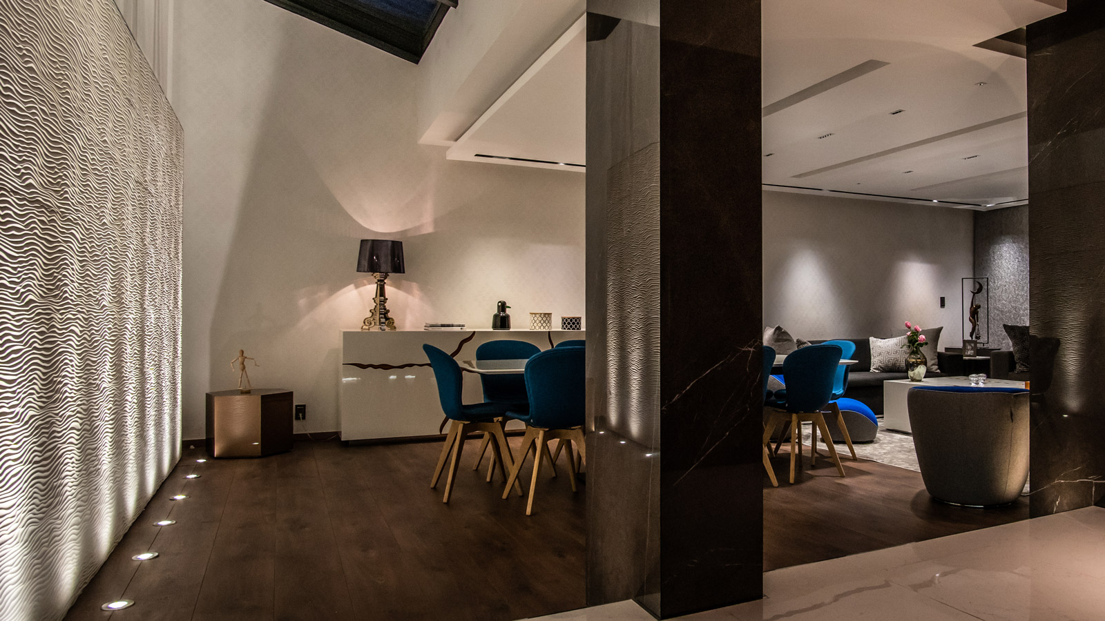 PORCELANOSA Group Projects: Palmas Residence, a luxurious home to connect with the more artistic side of Mexico