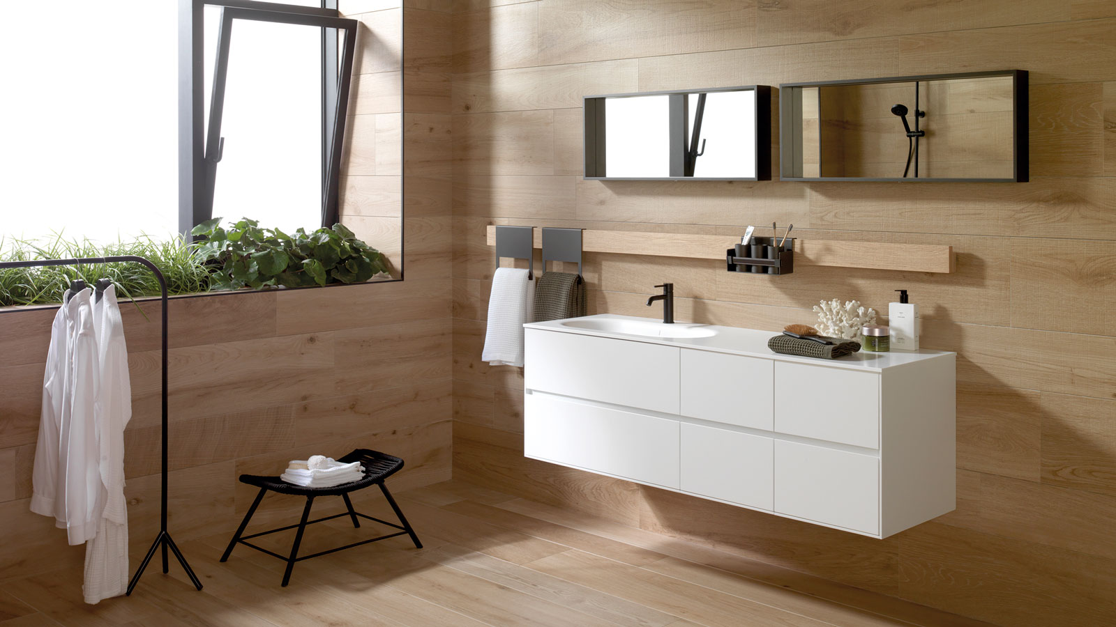 PORCELANOSA Virtual Exhibition: Gamadecor presents its new solutions for kitchens and bathrooms with a focus on minimalism and sustainability