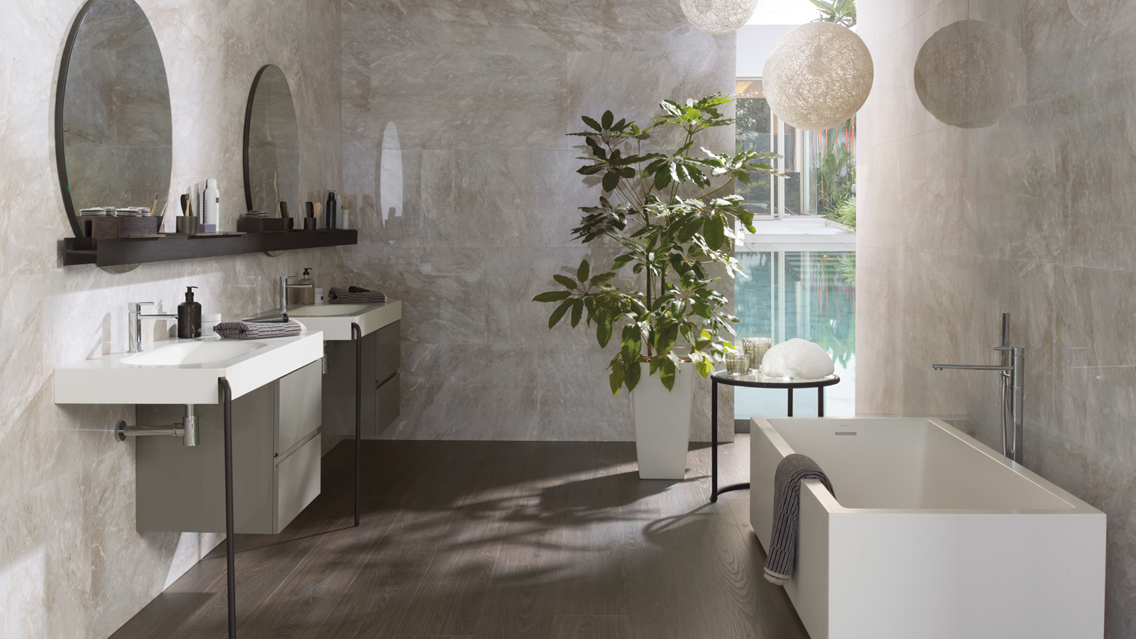Update your bathroom with these five tiles combinations