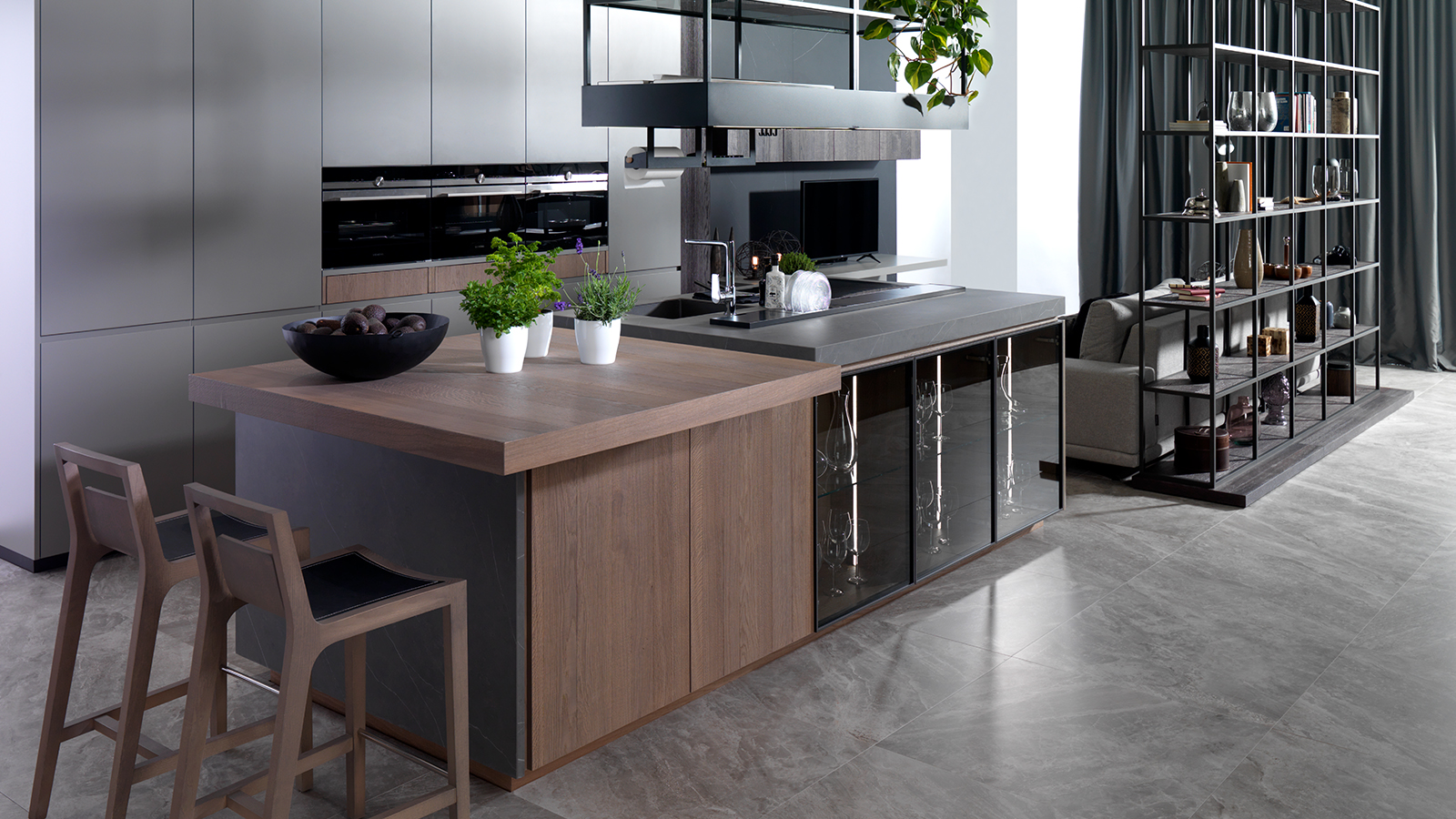 Design a kitchen with a practical and functional island