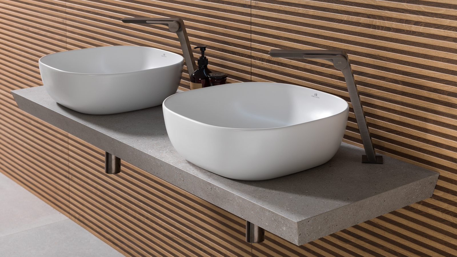 PORCELANOSA Virtual Exhibition: Noken's new bathrooms combine well-being and sustainability with more natural designs