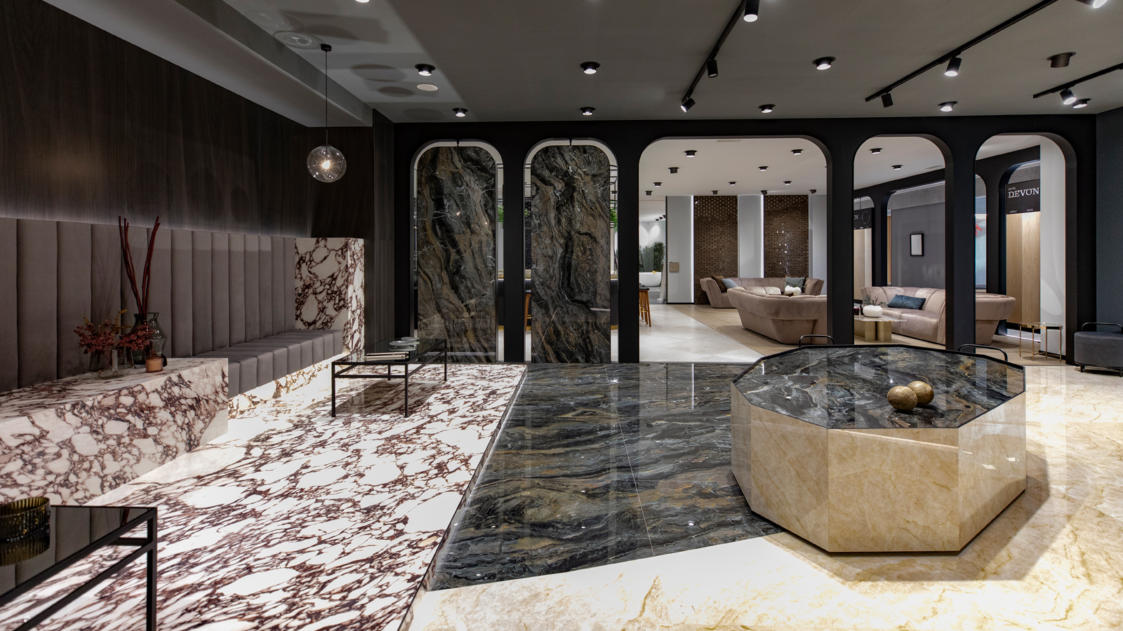 Porcelanosa Showroom Moscow-4 space