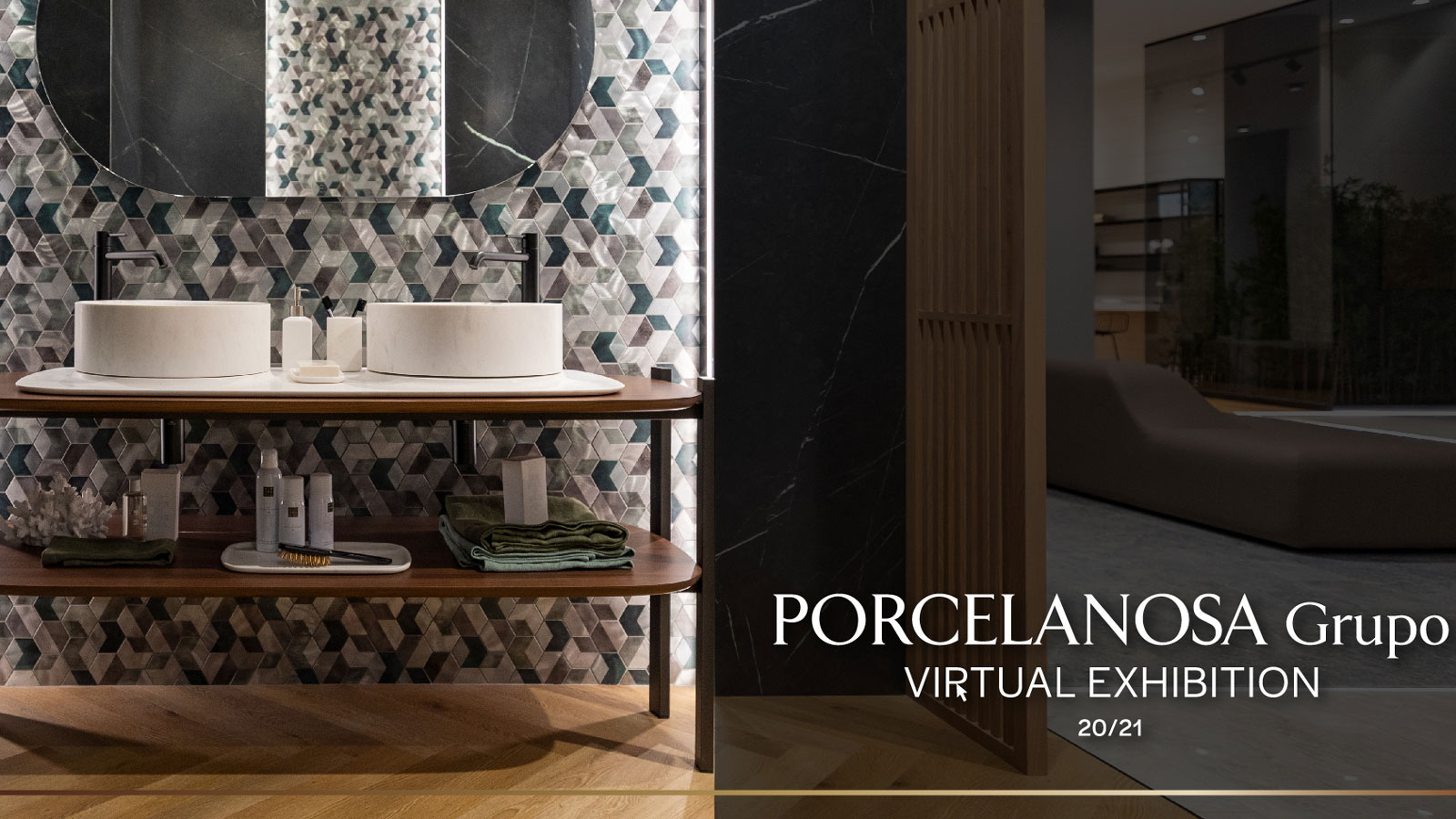 Porcelanosa presents its new collections in a virtual tour of the major design capitals