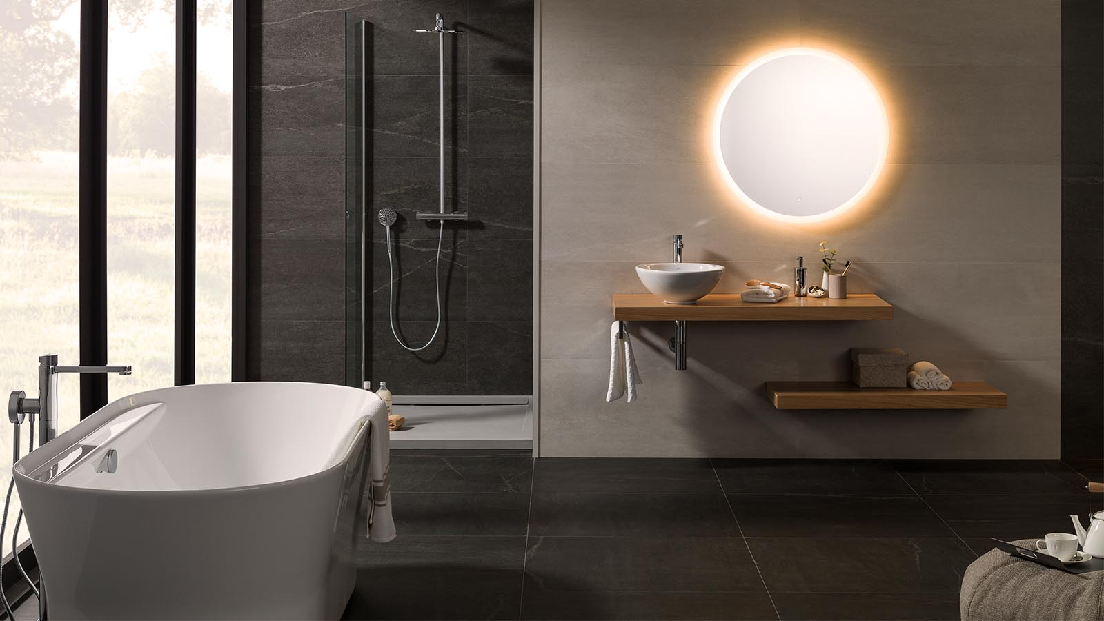 Tips for choosing and installing LED bathroom mirrors