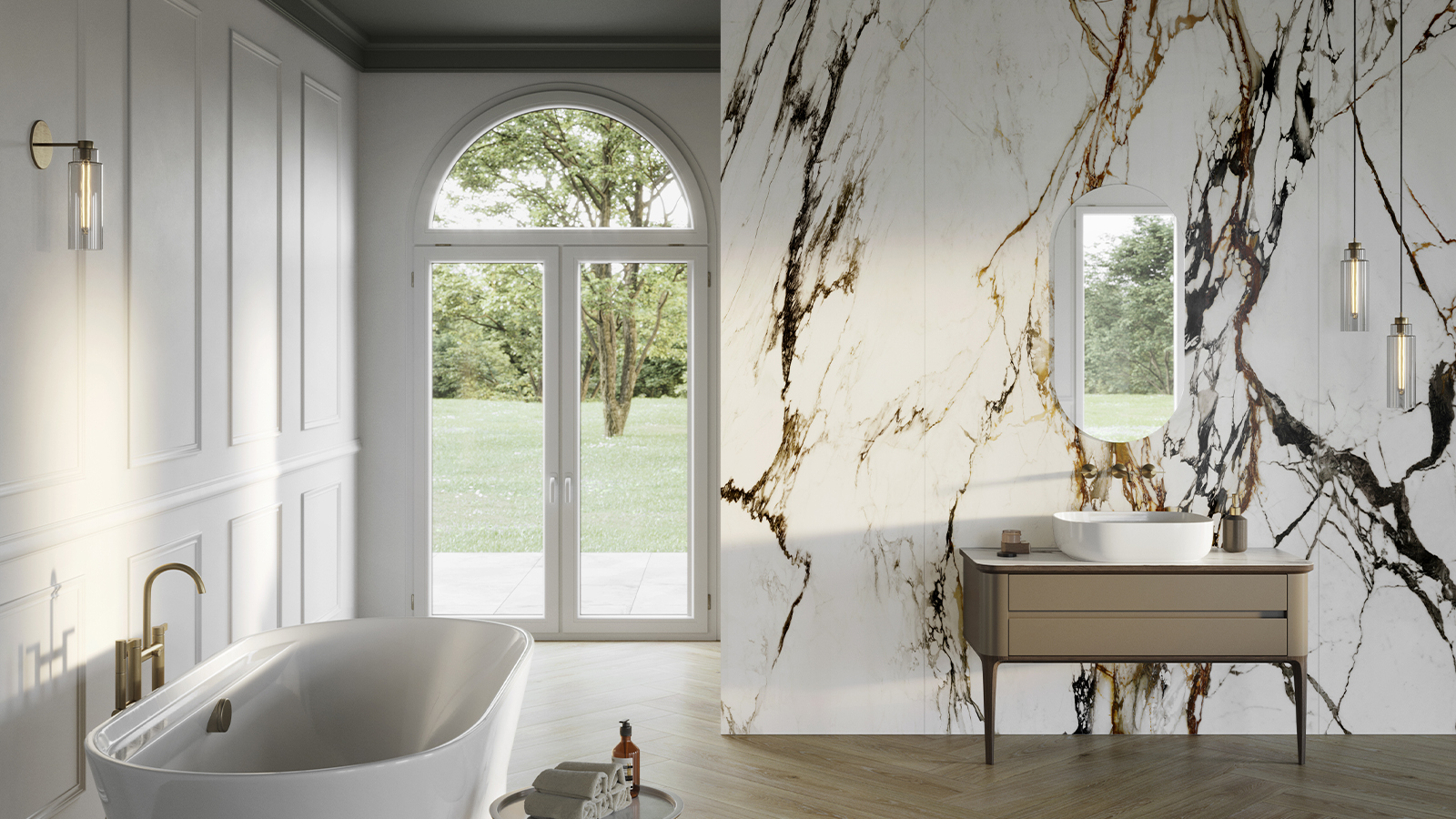 Paonazzo Biondo, XTONE's most sophisticated and artistic marble