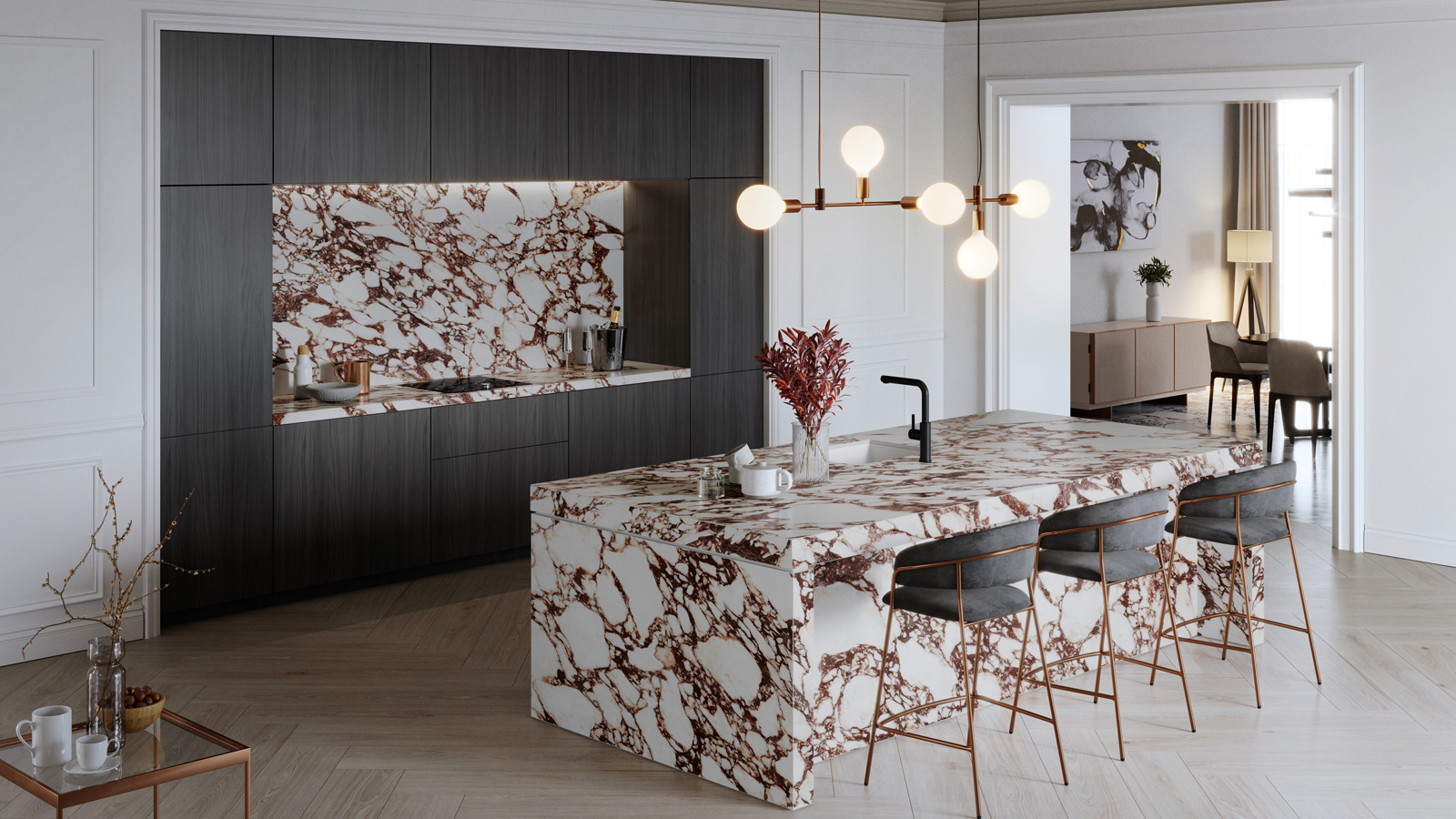 Viola Collection, the reinvention of Calacatta marble with XTONE's resistance