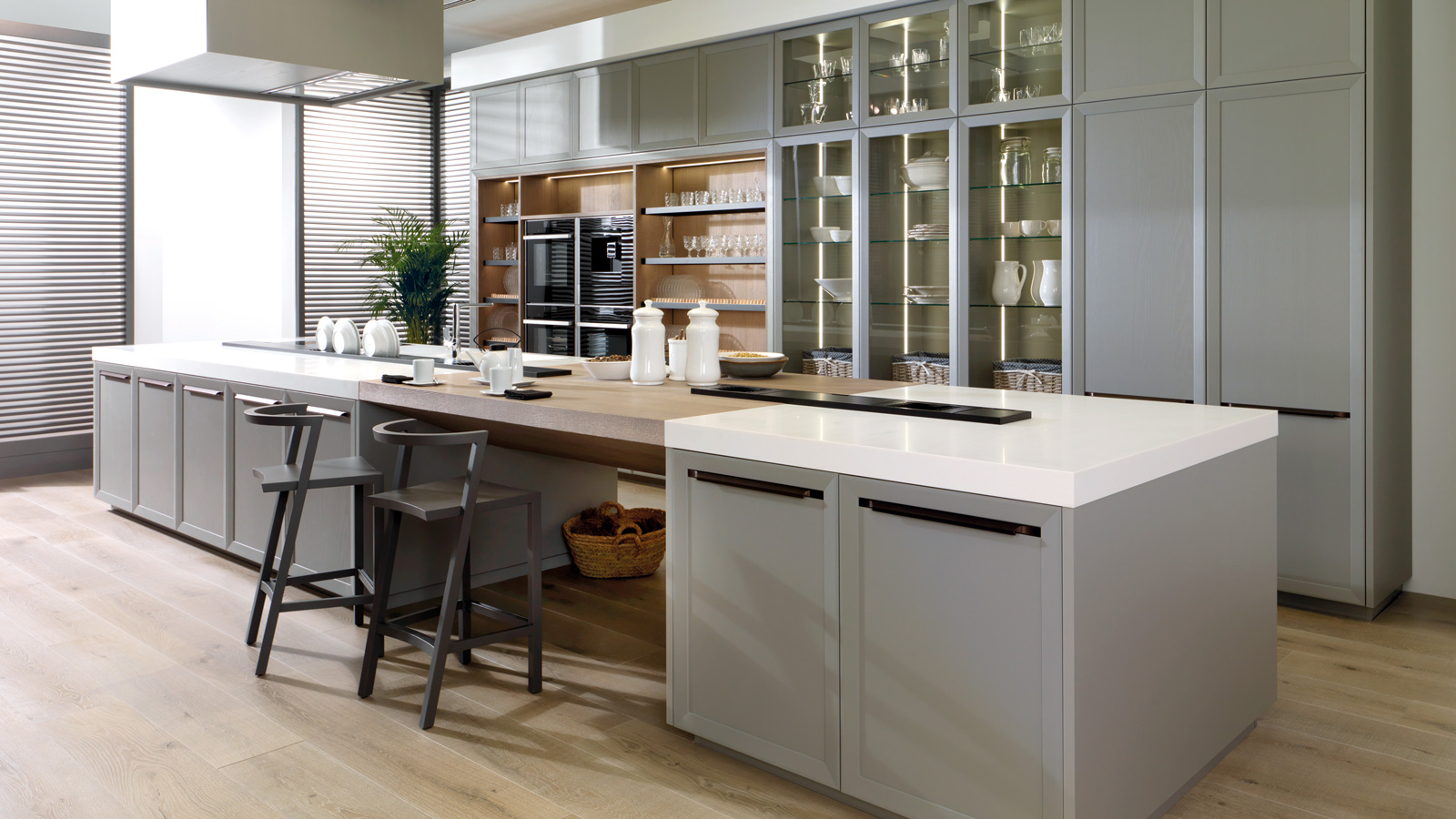 Six ideas for rustic kitchens with Porcelanosa style