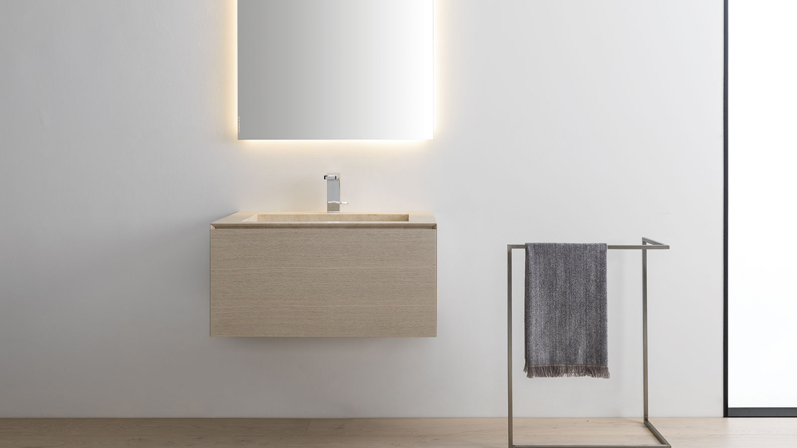 Six minimalist bathrooms to fall in love with