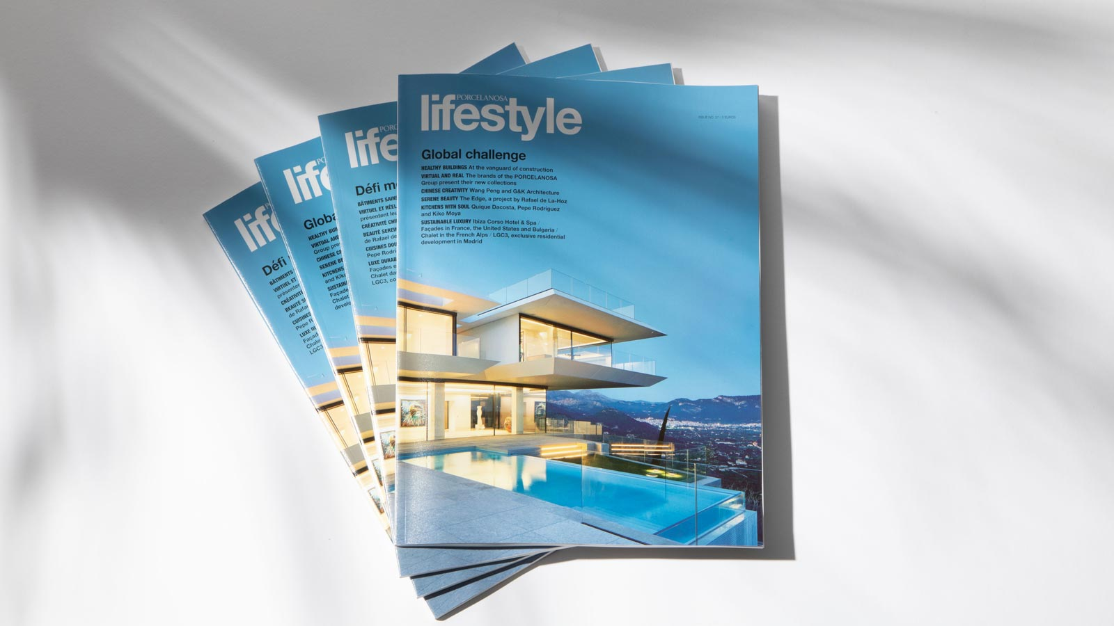 PORCELANOSA Lifestyle dedicates its latest issue to healthy spaces and major projects in China
