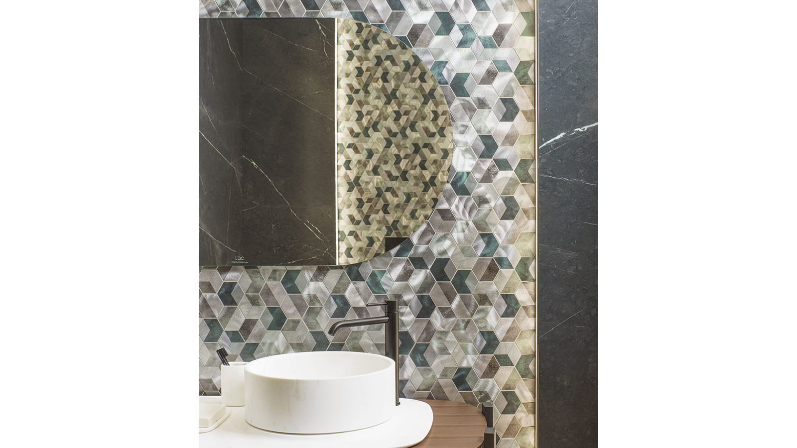 Lavabo Balda Doble Persian Americano+Mosaico Future Emerald Antic Colonial Porcelanosa-2