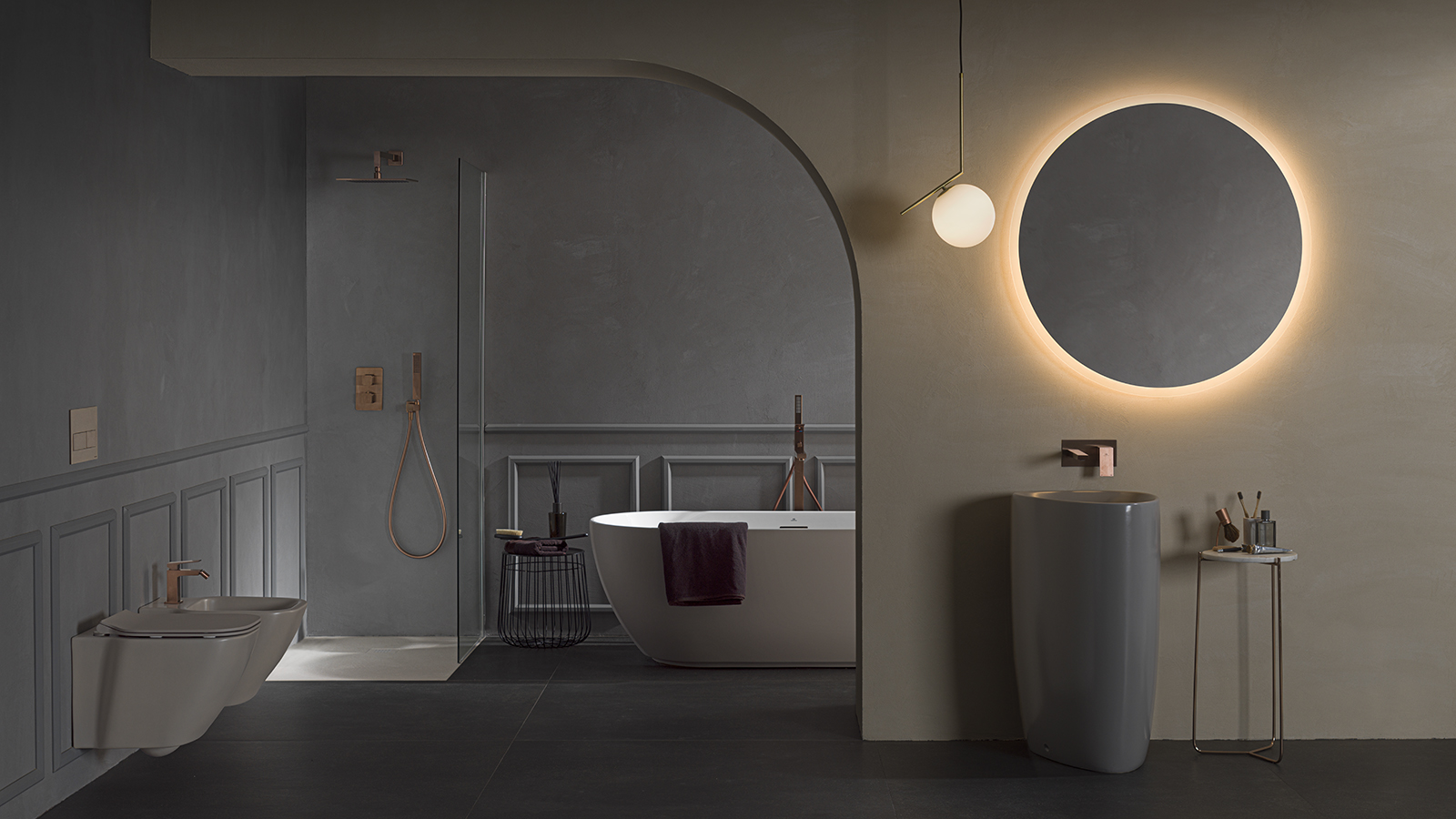 Modern and sustainable bathrooms with Slate shower trays