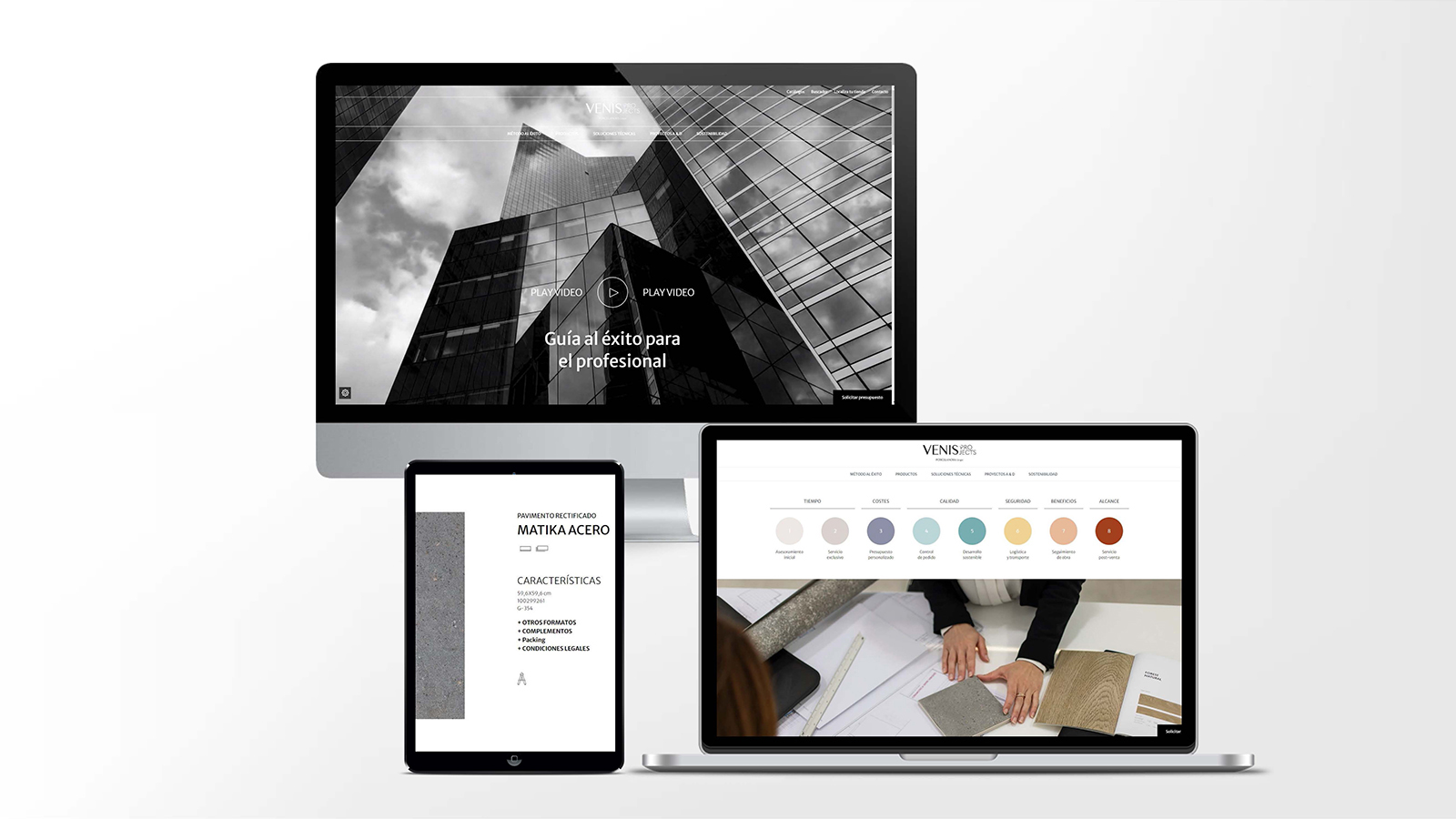 Venis Projects brings ceramic tiles closer to professionals with new digital tools