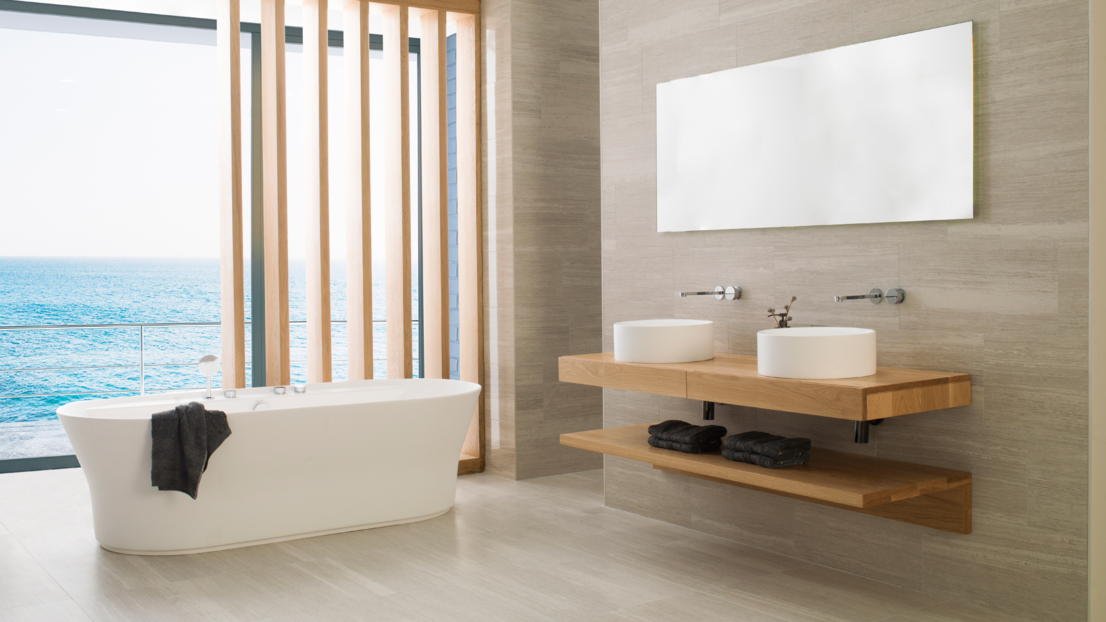 9 Krion baths for an on-trend bathroom
