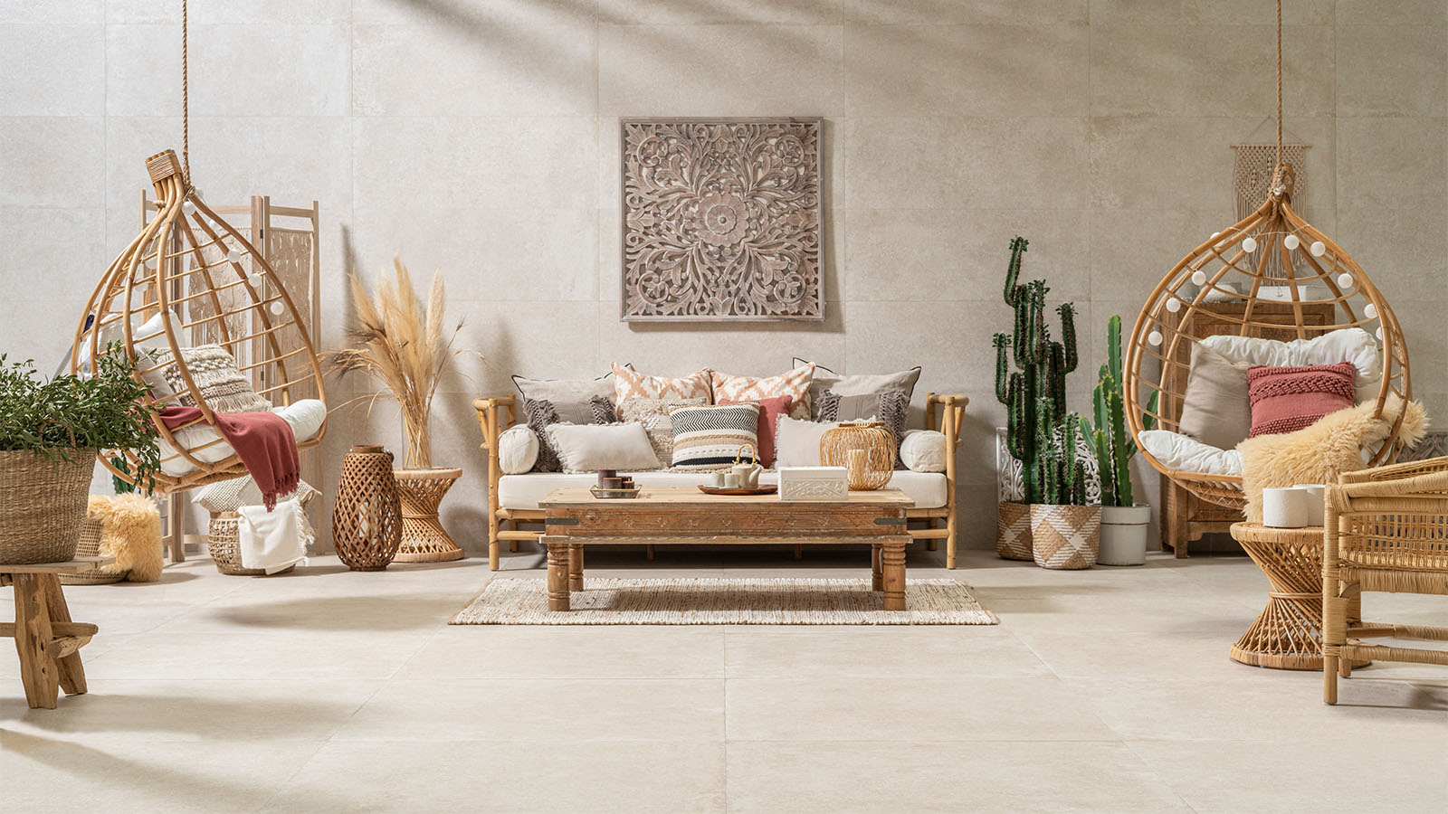 Cane furniture, a timeless material for today's home