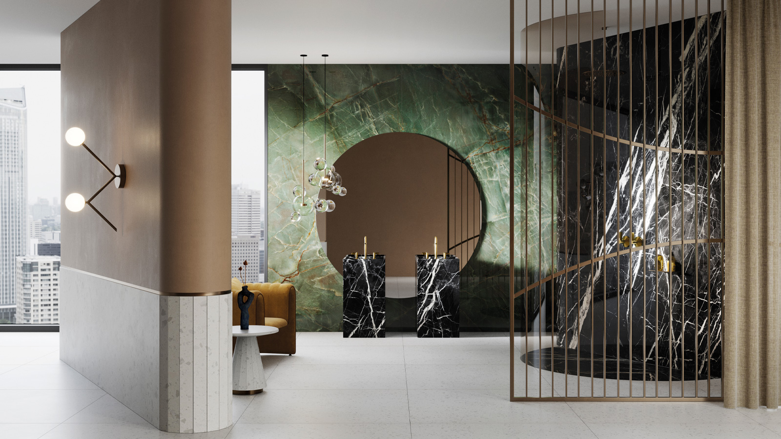 XTONE® blends with marble at Cersaie 2021