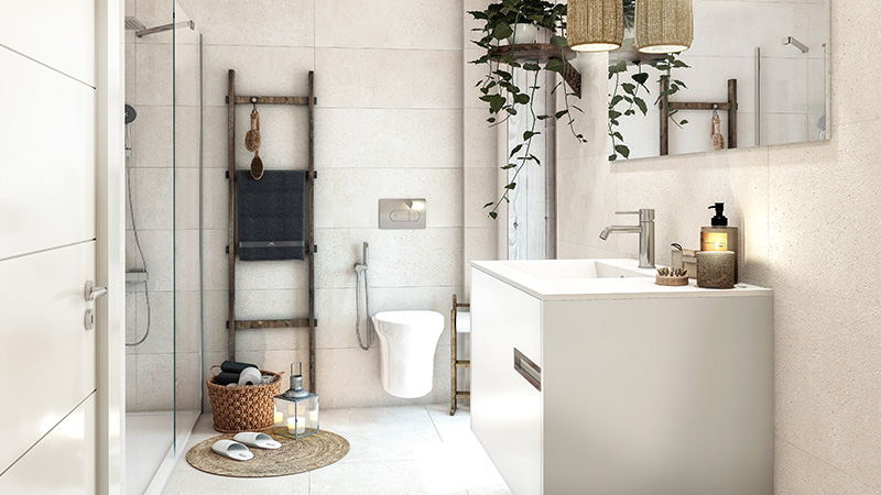 Remodelling a small bathroom: Décor and design ideas